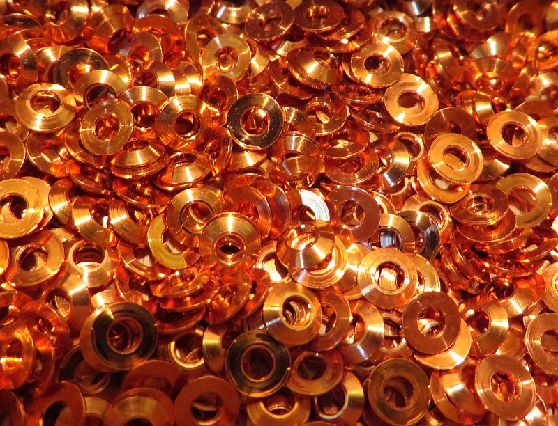 rivets: Rivets copper